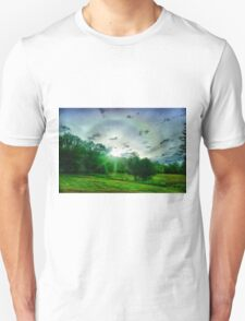 Heavenly landscape Unisex T-Shirt