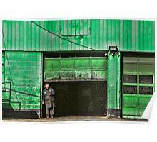 Urban Green Poster
