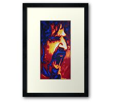 Zappa Framed Print