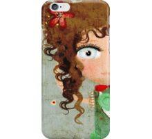 Doll Huge Eye Iphone 4 Case iPhone Case/Skin