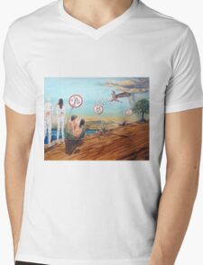 Signs of the possible Mens V-Neck T-Shirt