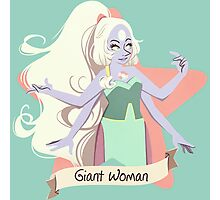 Giant Woman Photographic Print