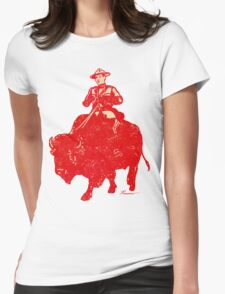 Border Patrol - Canada / Buffalo Womens Fitted T-Shirt