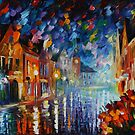 FROZEN NIGHT - LEONID AFREMOV by Leonid  Afremov