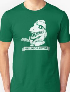 Philosoraptor, T-rex Humor T-Shirt