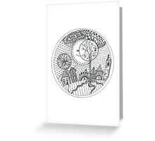 'Peep-bo' Greeting Card
