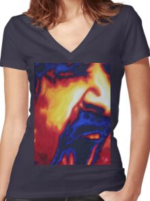 Zappa Women's Fitted V-Neck T-Shirt