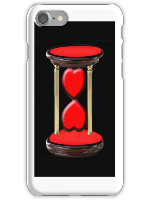 ¸.♥➷♥•*¨TWO HEARTS MEETING IN TIME IPHONE CASE¸.♥➷♥•*¨ by ✿✿ Bonita ✿✿ ђєℓℓσ