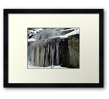 Nordic Abode of Trolls & Fairies Framed Print