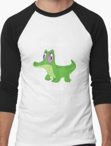 Gummy - Interior Crocodile Alligator Men's Baseball ¾ T-Shirt