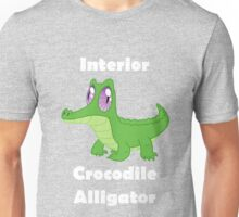 Gummy - Interior Crocodile Alligator Unisex T-Shirt