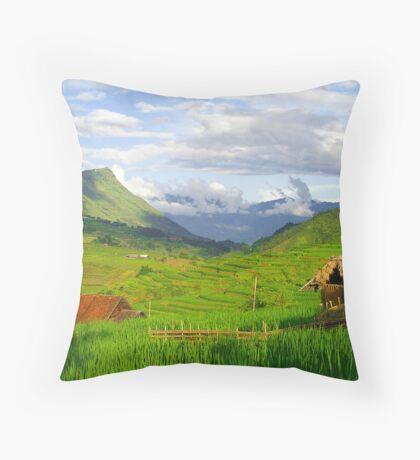 Ta Van, Lao Cai Province, Vietnam Throw Pillow