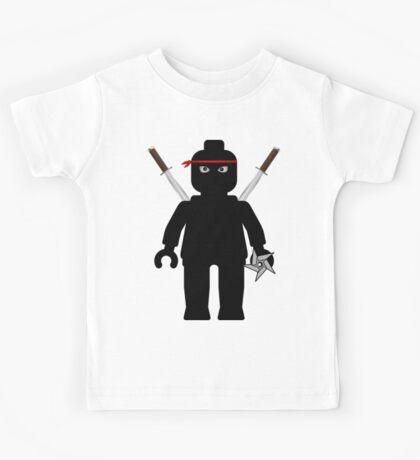 Ninja Minifig / TMNT Foot Soldier Kids Tee