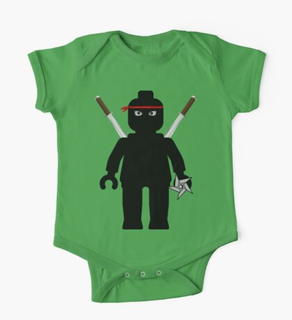 Ninja Minifig / TMNT Foot Soldier One Piece - Short Sleeve