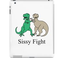 How T-Rex Fights iPad Case/Skin