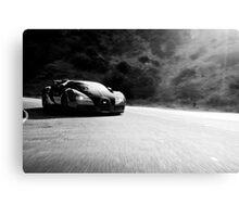 Bugatti Veyron - B&W Canvas Print