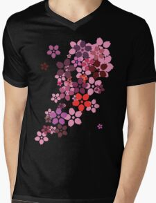 Sakura Mens V-Neck T-Shirt
