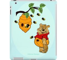 Pooh Bear takes care of his tummy (8345  Views) iPad Case/Skin