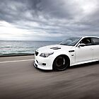 Ocean Side - BMW - M5  by Mo Satarzadeh