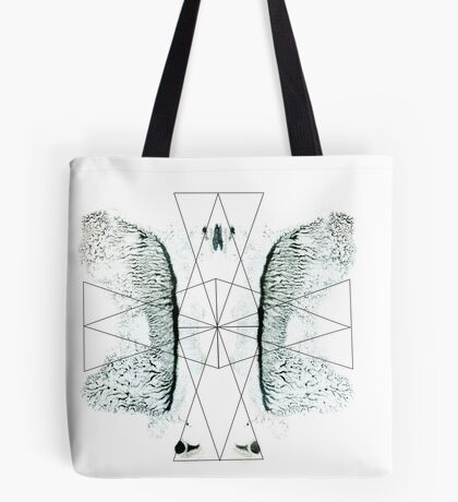Ink triangle Tote Bag