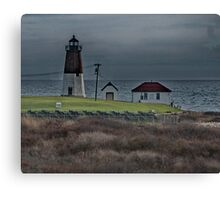Point Judith Lighthouse Canvas Print