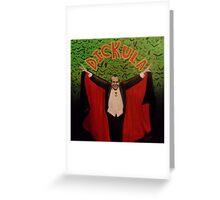 Count Dickula Greeting Card