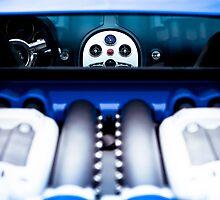 Bugatti Veyron - A Peek In by Mo Satarzadeh