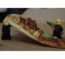 Pizza Thieves Photographic Print