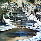 Frozen Stream by atelier1