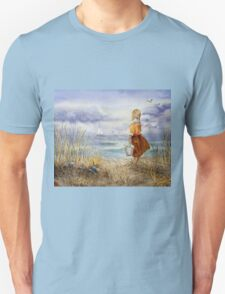 A Girl And The Ocean T-Shirt