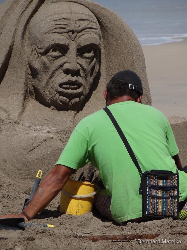 Sand Artwork - Arte De Arena by Bernhard Matejka