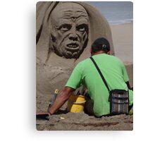 Sand Artwork - Arte De Arena Canvas Print