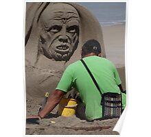 Sand Artwork - Arte De Arena Poster