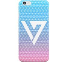 Triangle Grid Pastel Gradient Seventeen Kpop iPhone and Samsung Case iPhone Case/Skin