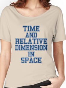 time and relative footballteam.. Women's Relaxed Fit T-Shirt