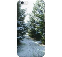 Snow Fir Tree iPhone Cover iPhone Case/Skin