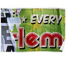 * EVERY E-lem Poster