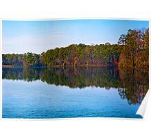 Lake at Callaway Garden Poster