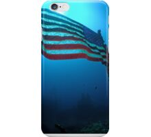 Old Glory on a Sunken Wreck iPhone Case/Skin