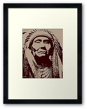 CHIEF JOSEPH-NEZ PERCE 2 by OTIS PORRITT