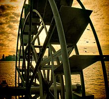 Hudson River Wheel by Chris Lord