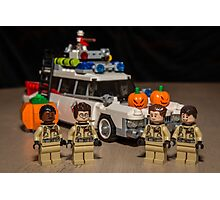 Ghostbuster Halloween Photographic Print