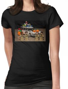 Ghostbuster Halloween Womens Fitted T-Shirt