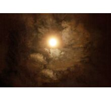 Cloudy Night Photographic Print
