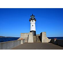 Duluth Harbor North Breakwater Lighthouse  Photographic Print