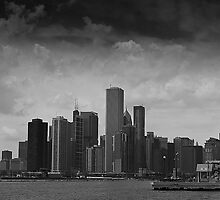 Chicago Skyline by Paul Barnett