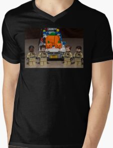 Pumpkin Cadillac Mens V-Neck T-Shirt