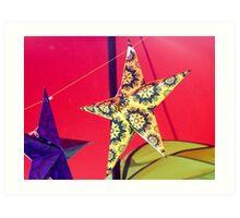 Stars at Trees Art Print