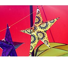 Stars at Trees Photographic Print