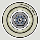 Skateboard Wheel Graphic Back  by Ra12